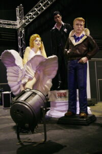 Statue Maryline James Dean Scarface