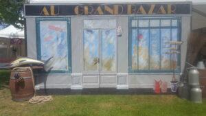 """Façade """"Au Grand Bazar"""""""