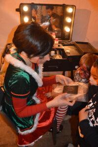 Maquilleuses de Noël