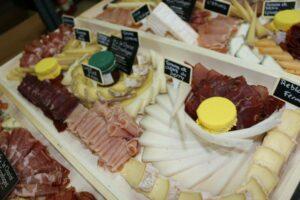 Plateaux fromage et charcuterie
